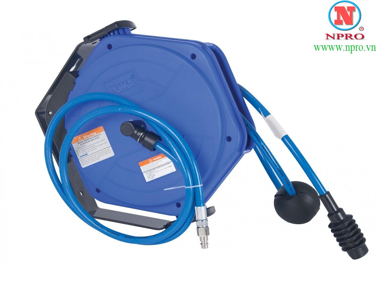 Cuộn dây hơi tự rút 10m PUMA PM10-10SA