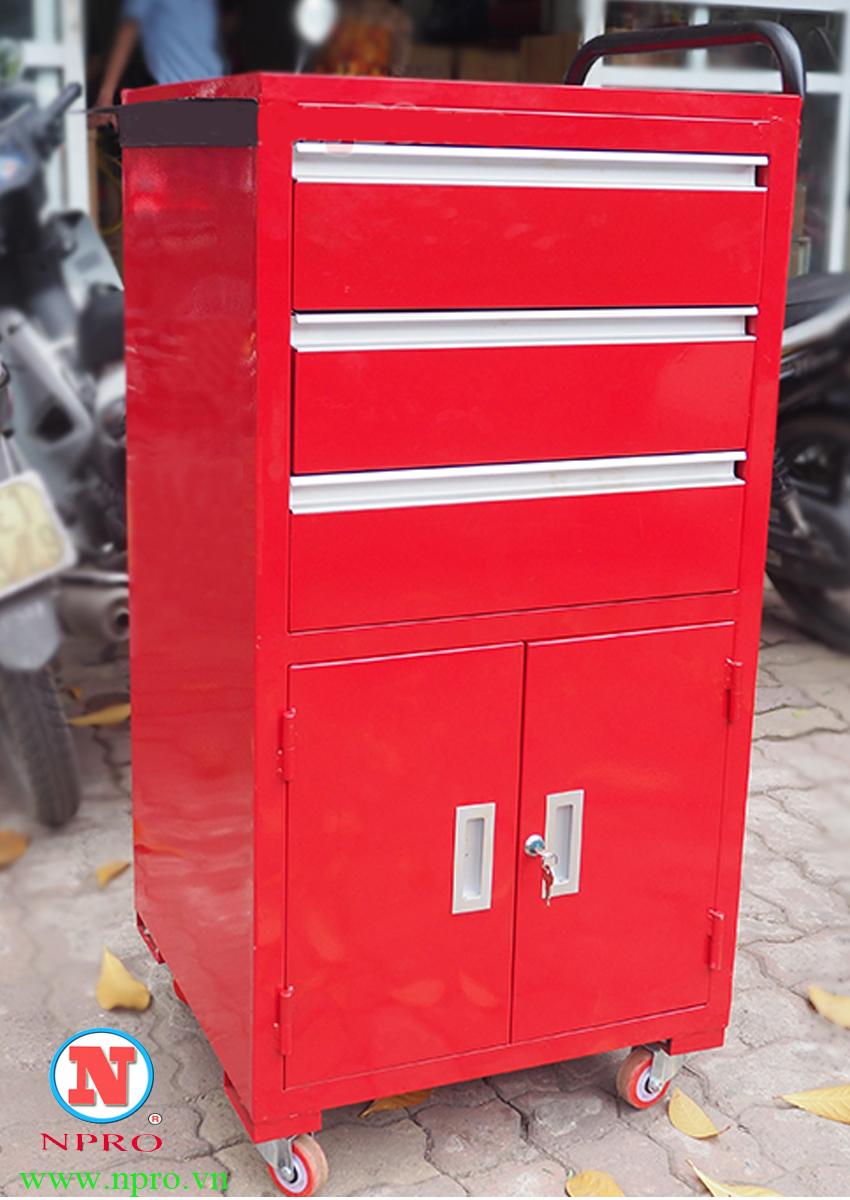 Tủ đồ nghề 3 ngăn kéo 1 ngăn 2 cánh