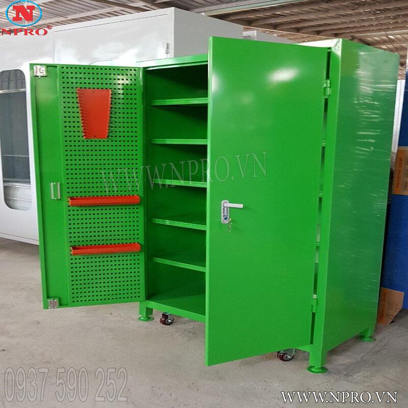 tủ treo dụng cụ đồ nghề 2 cánh 6 ngăn giá rẻ
