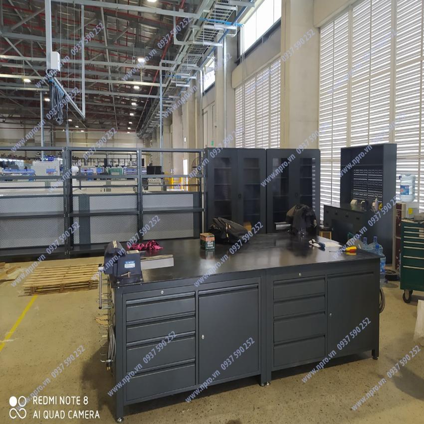 bàn nguội cơ khí công nghiệp tại HCM