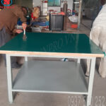 bàn nguội cơ khí mặt gỗ tại hà nội