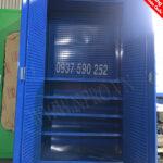 tủ treo dụng cụ cơ khí 2 cánh 5 ngăn